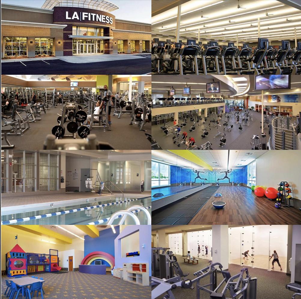 LA Fitness, gym & fitness