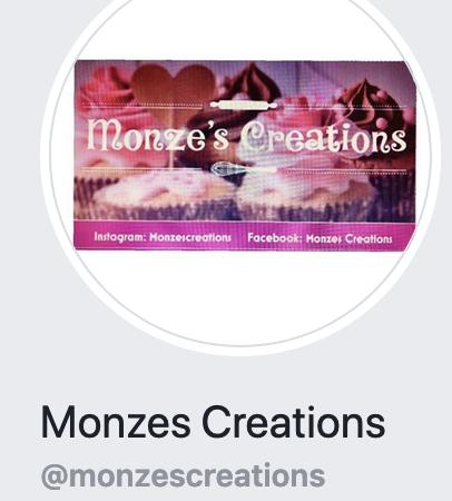 Monze's Creations, Baker & celebration expert
