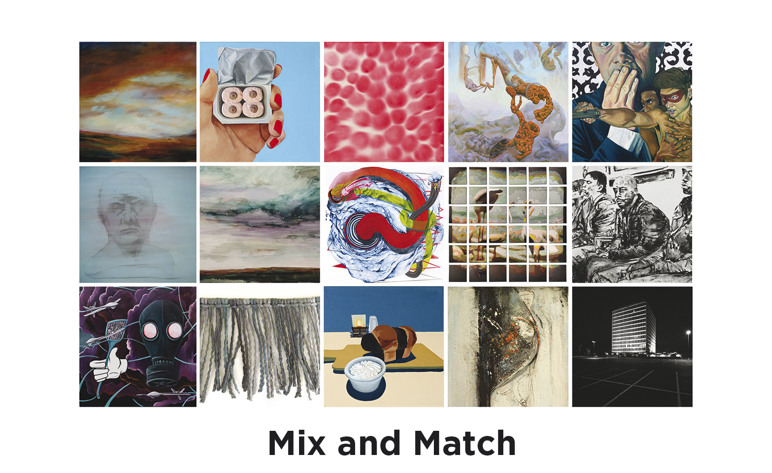 Mix and Match - January 8 – February 24, 2018