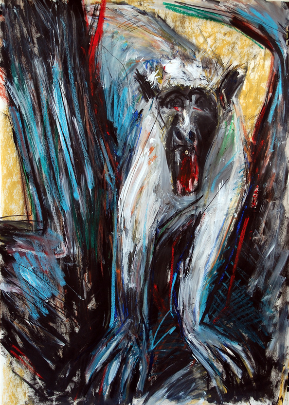 Scream (After Munch)