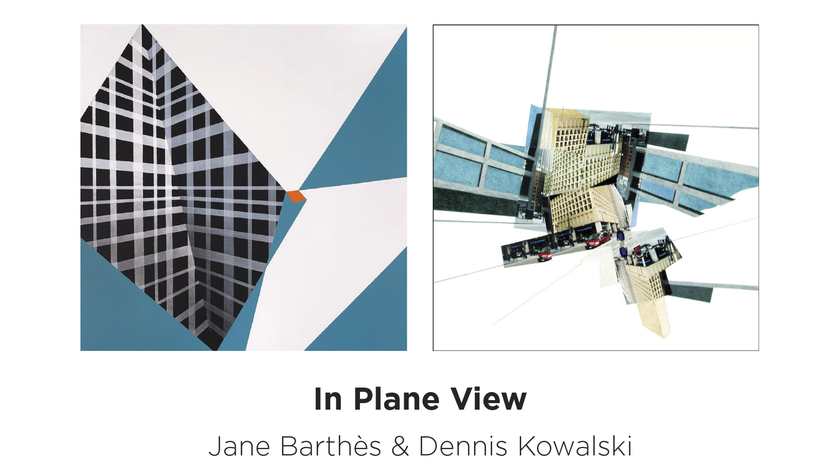 In Plane View - May 16 — June 28, 2019