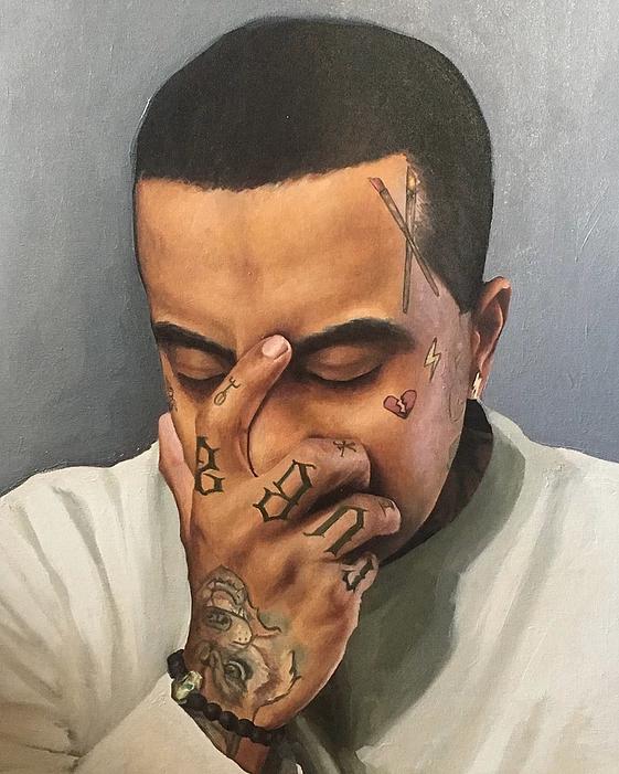Man in Grief