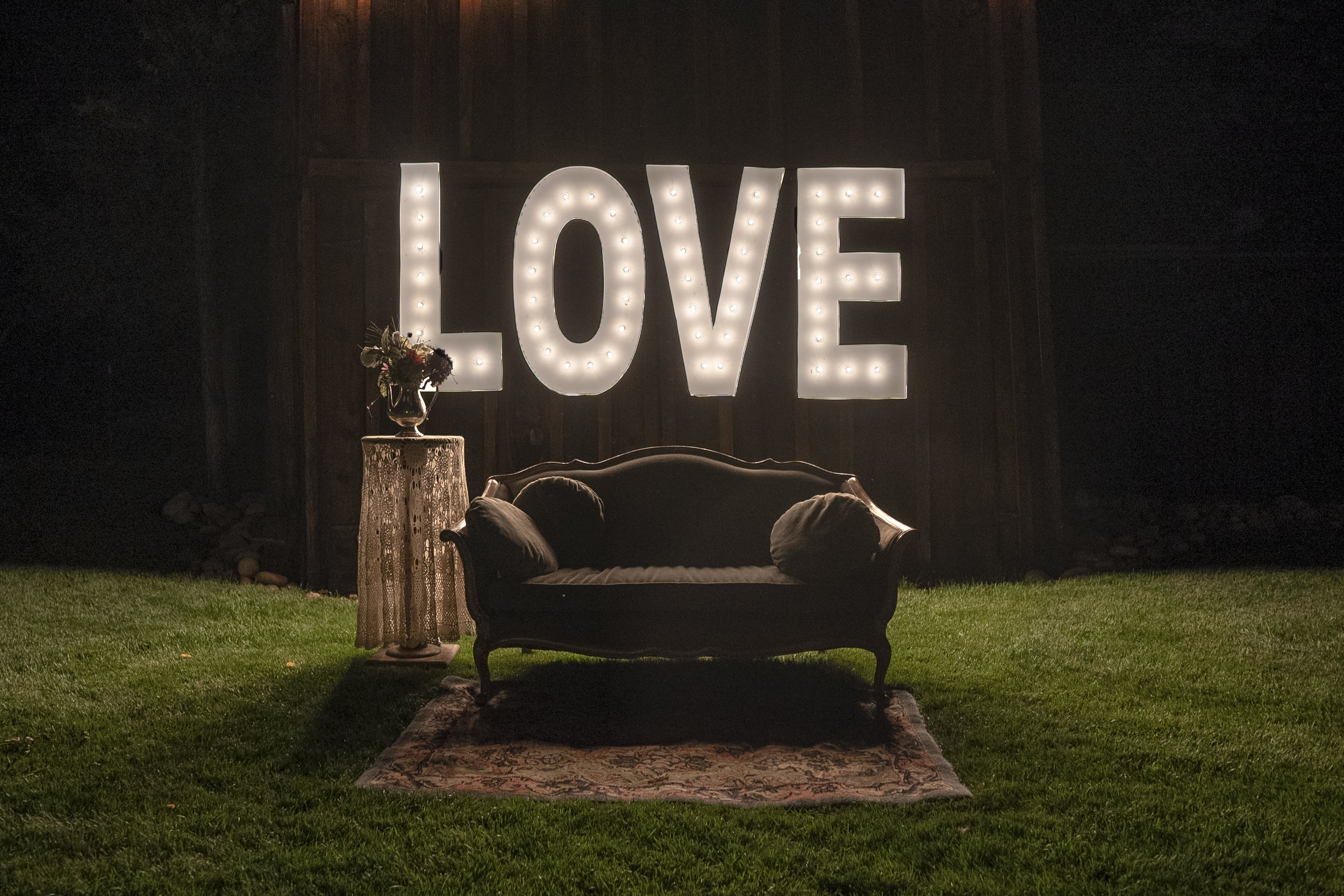 This couch is for you two love birds