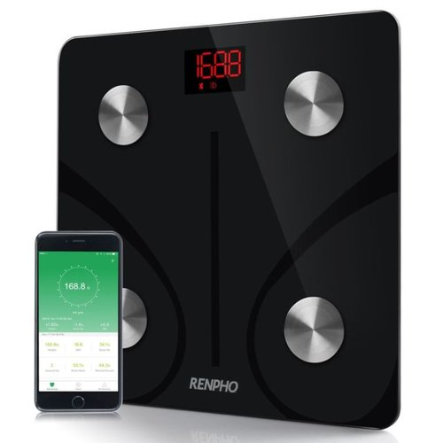 "Renpho Bluetooth Bodyfat Scale    This model of scale uses the Bio-electrical impedance Analysis Technology and is able to monitor at least 9 important compositions for tracking the healthy such as BMI, Body weight, body age, protein, Basal Metabolism, water, body fat, bone mas, among other components. You can be able to connect your tablet or smartphone via the App ""RENPHO"". It also comes with 4 high precision sensors.  For simple needs, you can use a basic model since it is just appropriate. It is easier to use and also affordable. The list above involves a wide selection of body fat scales that are meant to help anyone get exactly what they want. You can also check from the list and buy yourself one. They are top selling on the market and their prices are fairer."