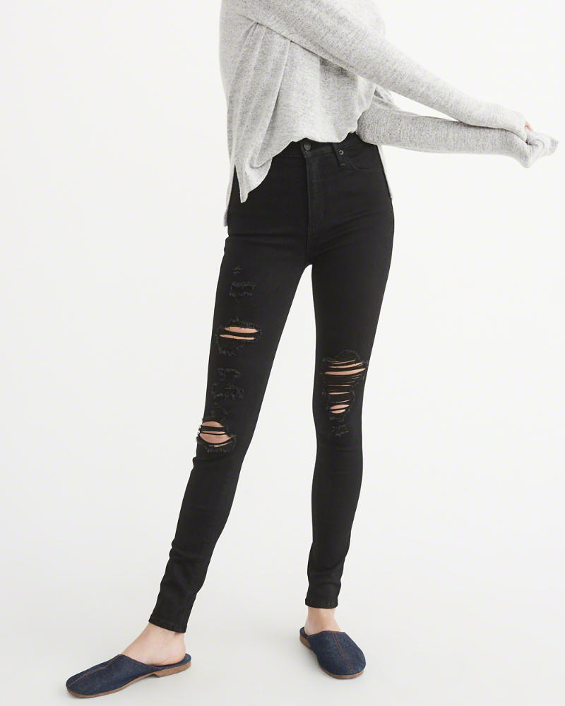 Black Skinnies - These are my faves and currently on mega sale for $44! I went with the short length (I'm 5'3) and they're perfect.