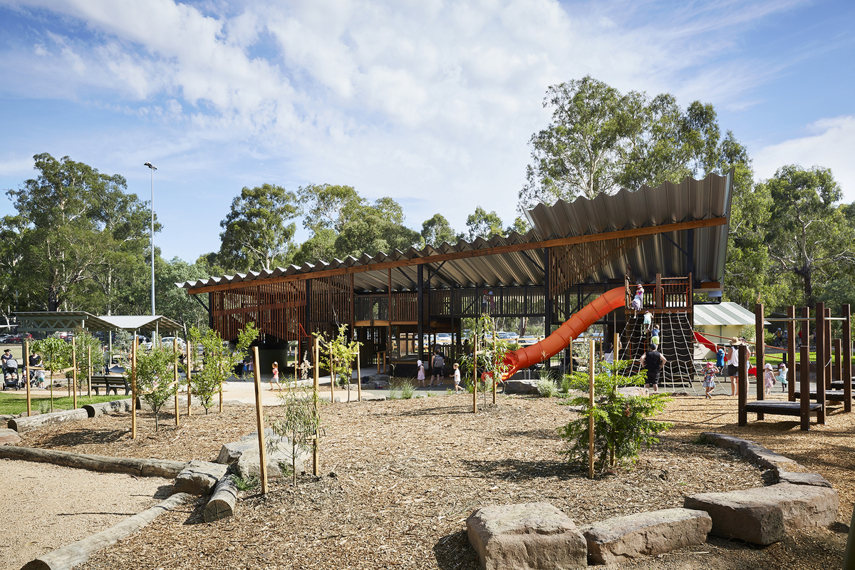 Amazing playgrounds in Melbourne