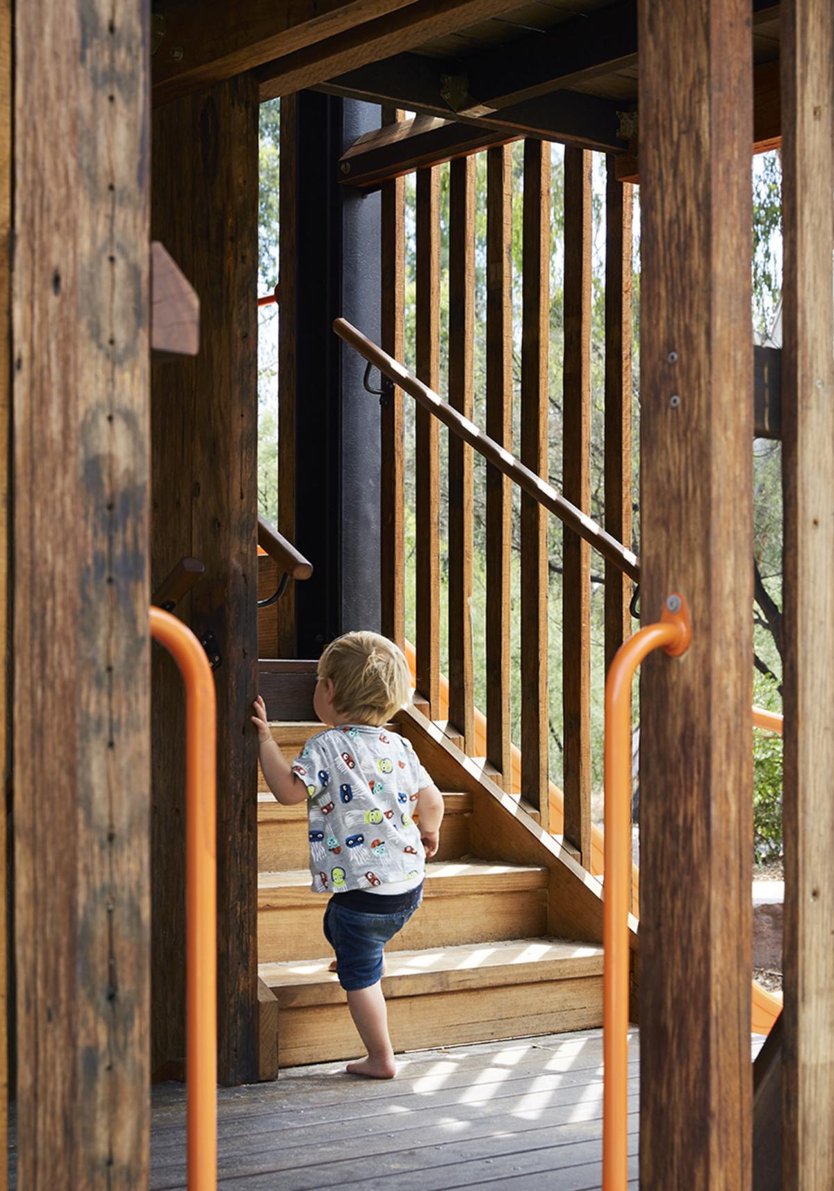 Timber playground ideas