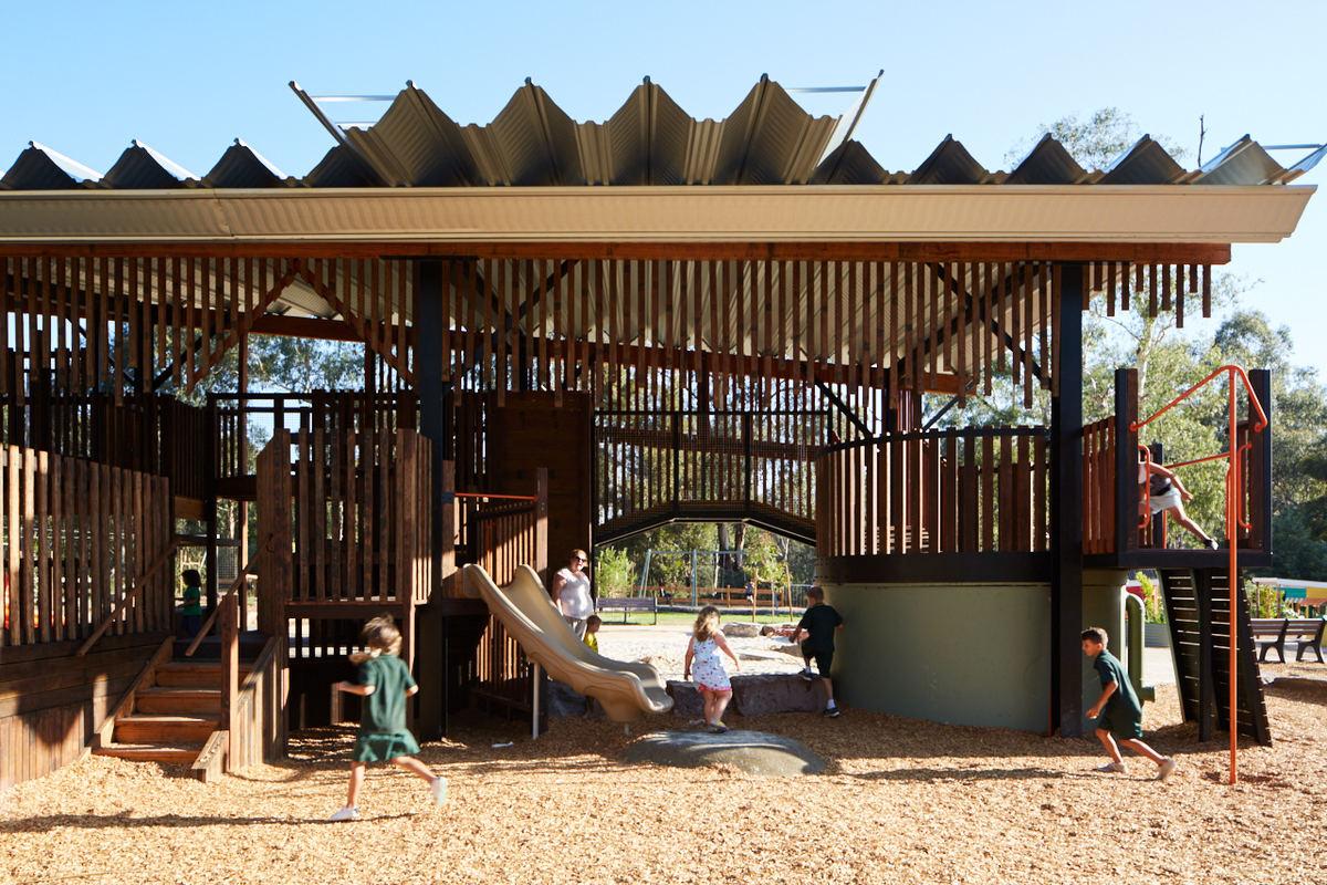 Eltham North Playground by Gardiner Architects