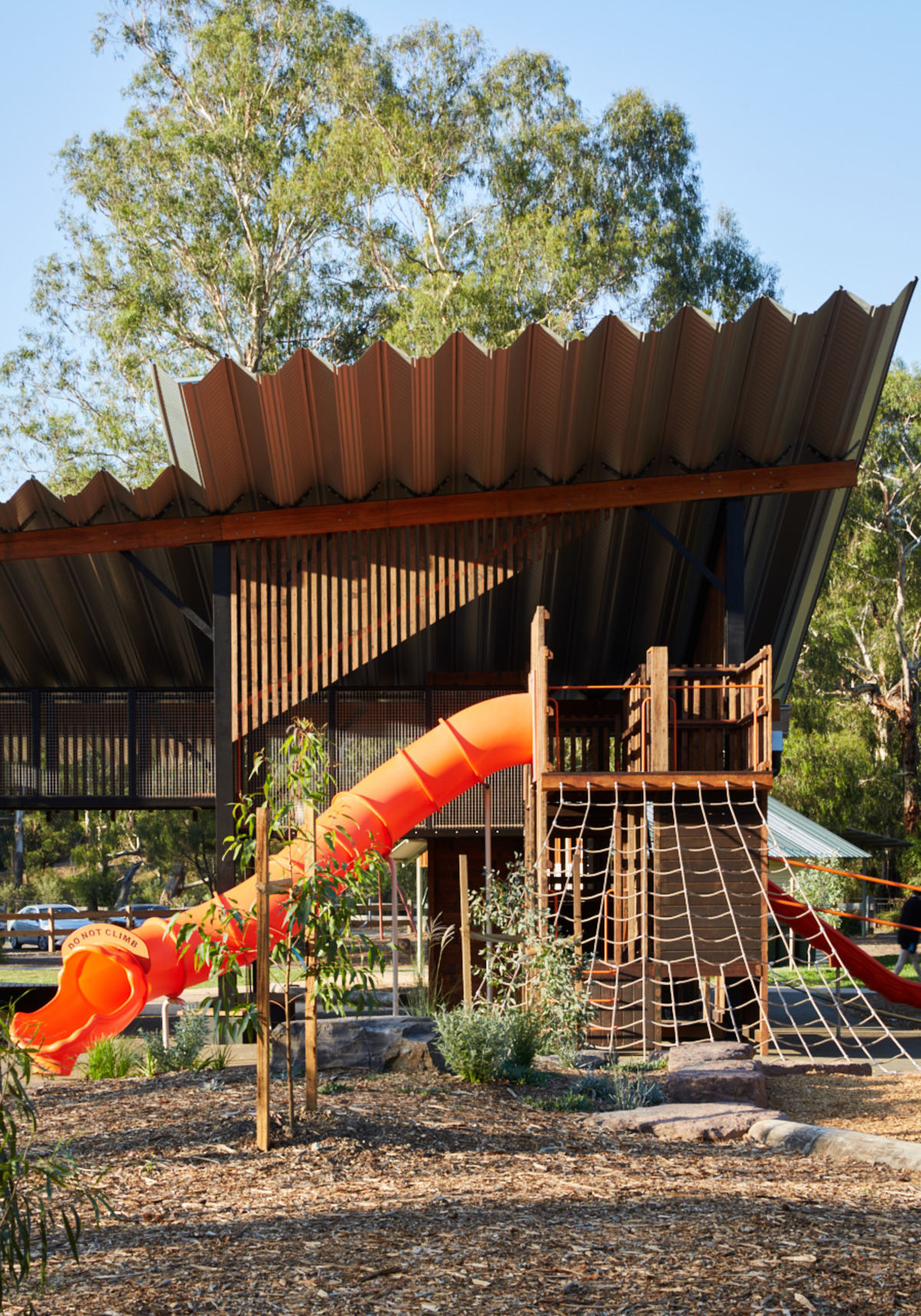 Children's playground in Melbourne