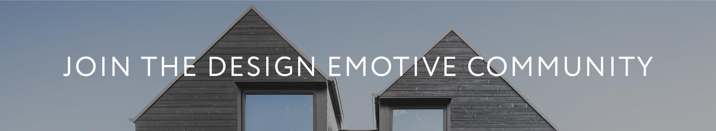 Join the design emotive