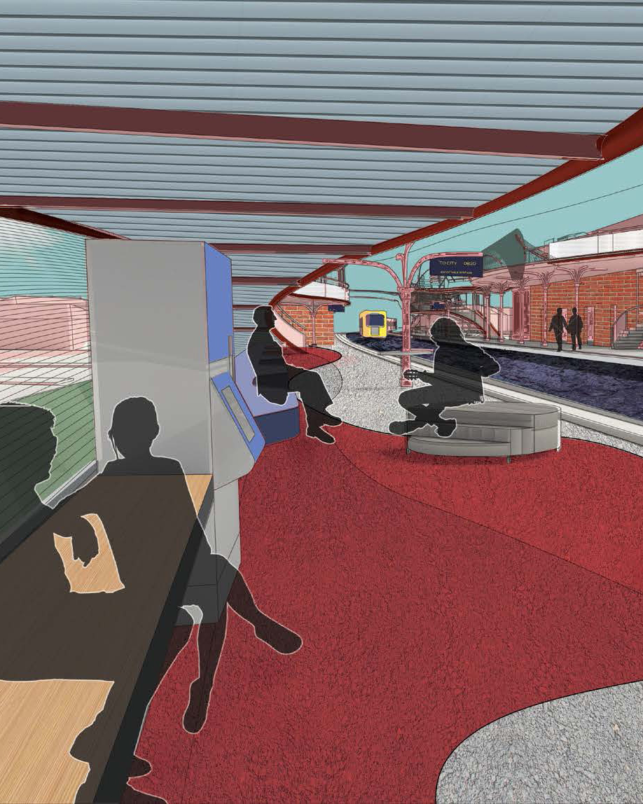 Dulux Colour Awards 2019 Student Winner Project _ Reimagining Rail (VIC) by Diana Ong, The University of Melbourne