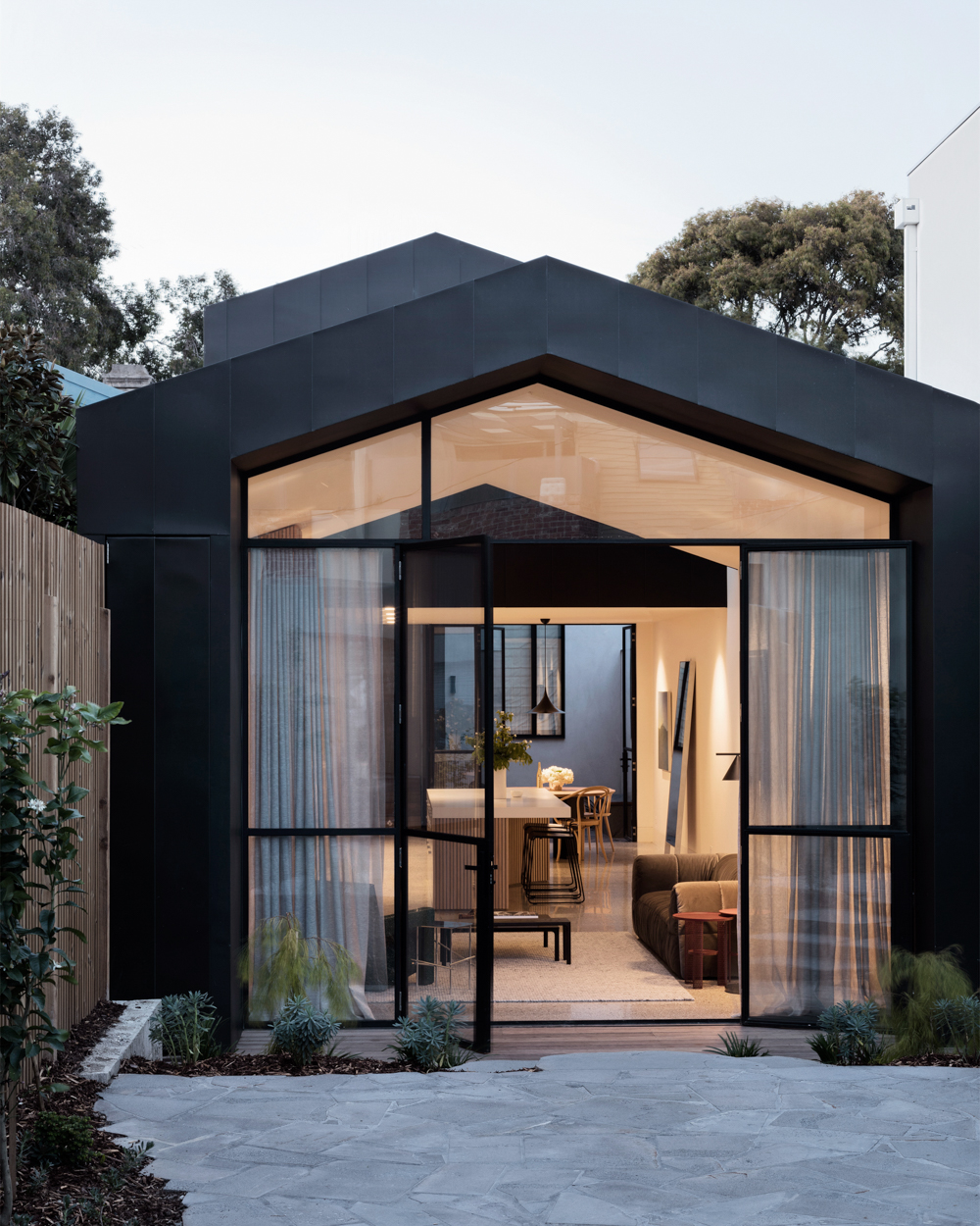 Construction of house in Australia