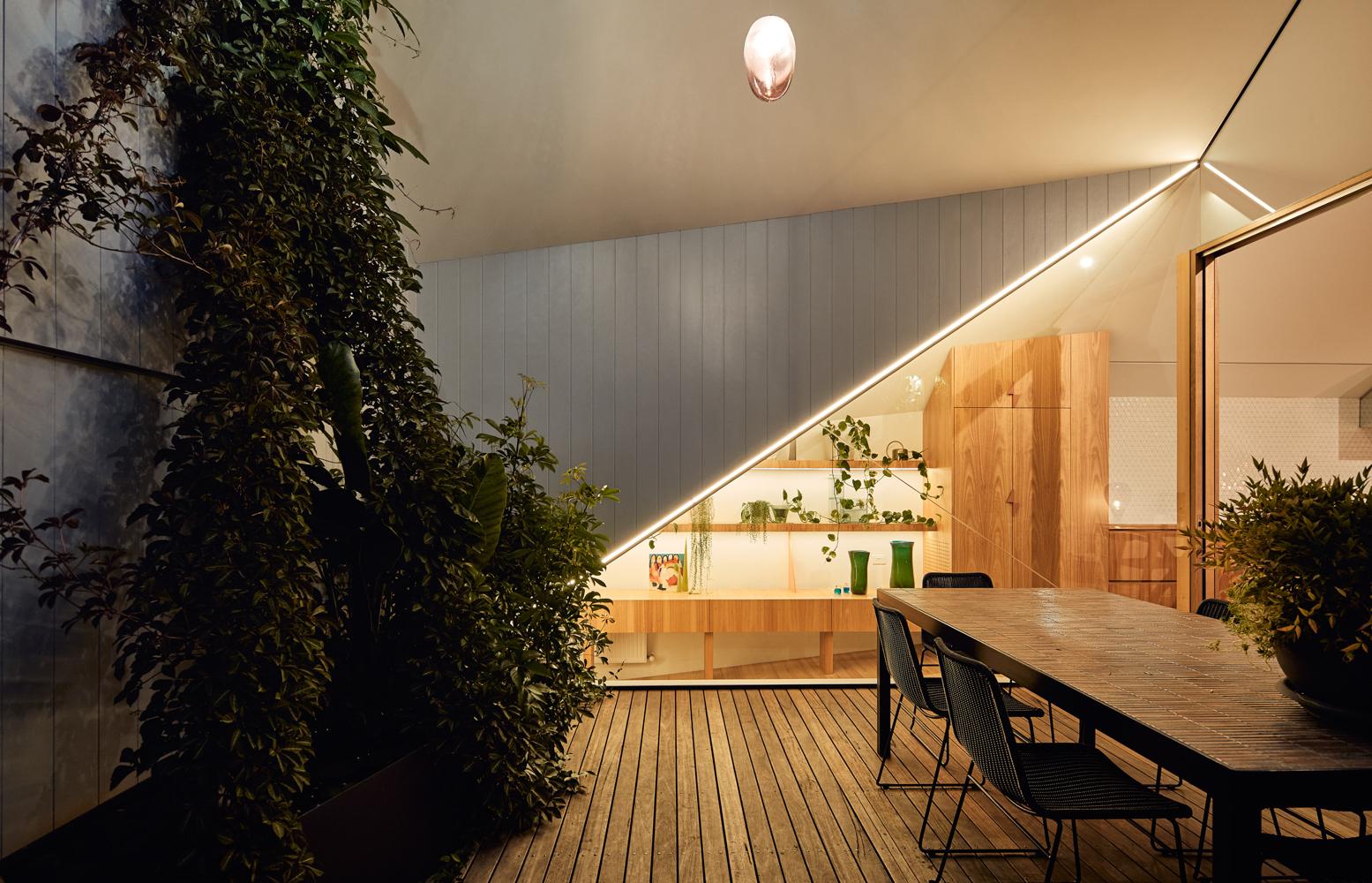 Outdoor area design