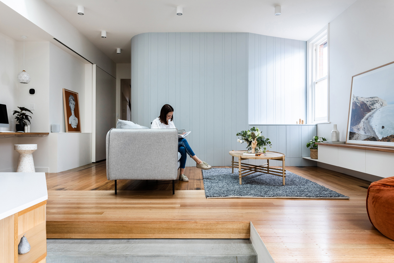 Living room colour pop