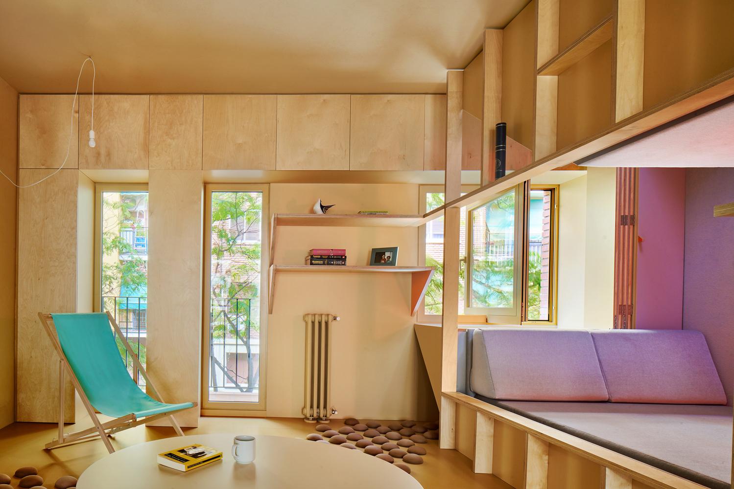Madrid apartment design