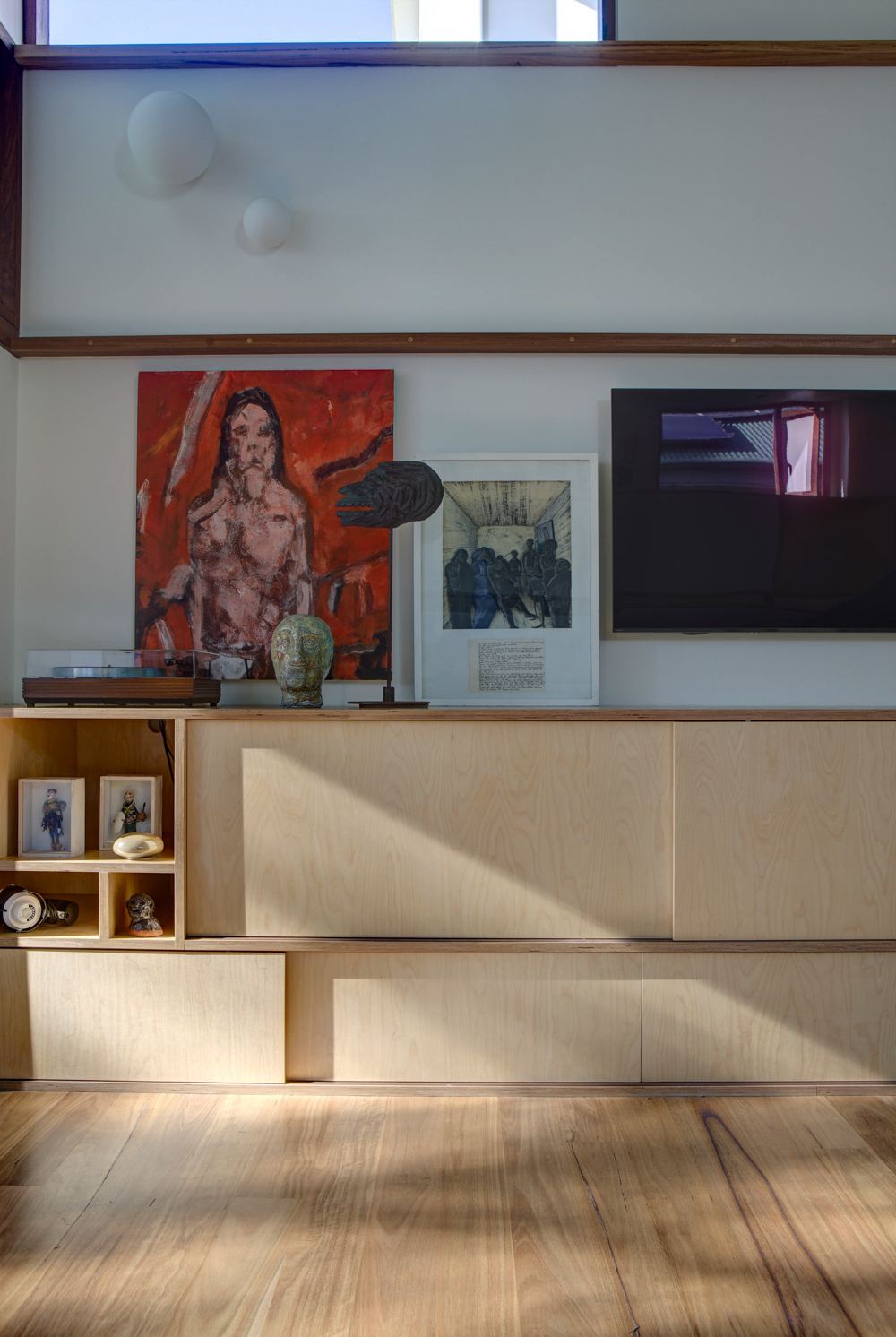 Displaying art in home