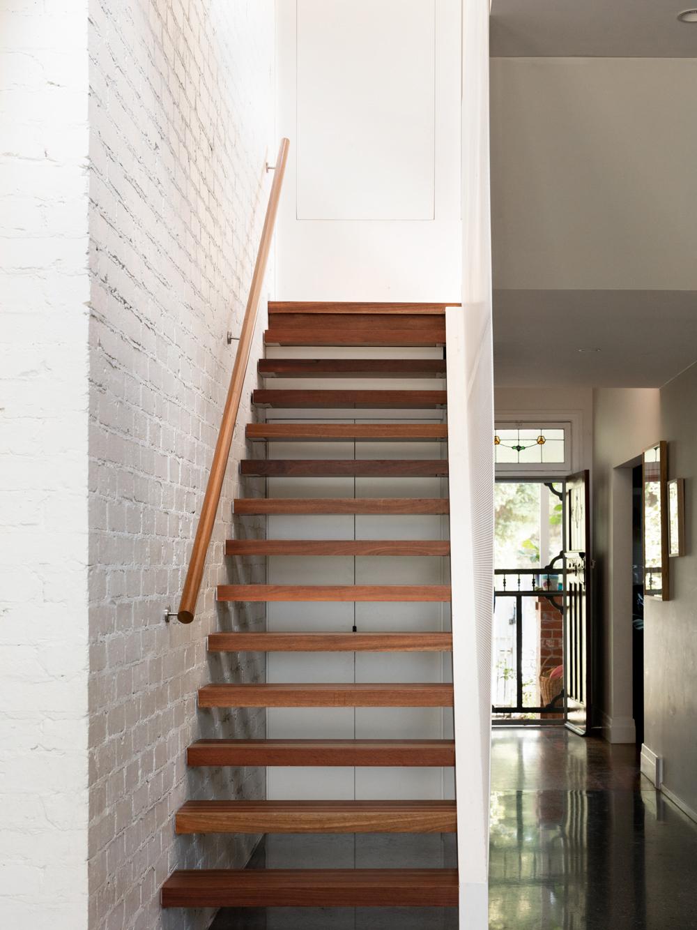 Timber stair design