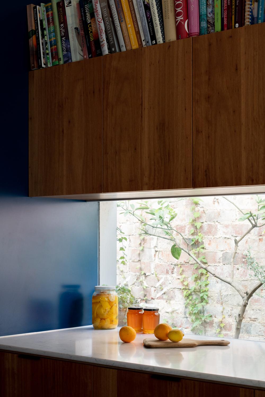 Kitchen window splash back