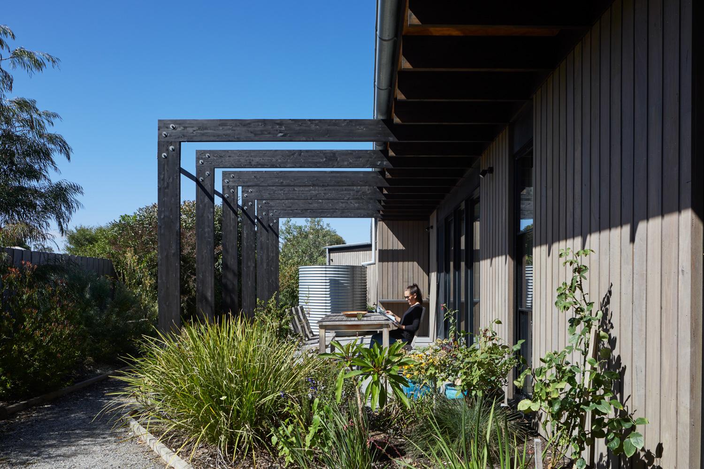 Garden design for coastal home