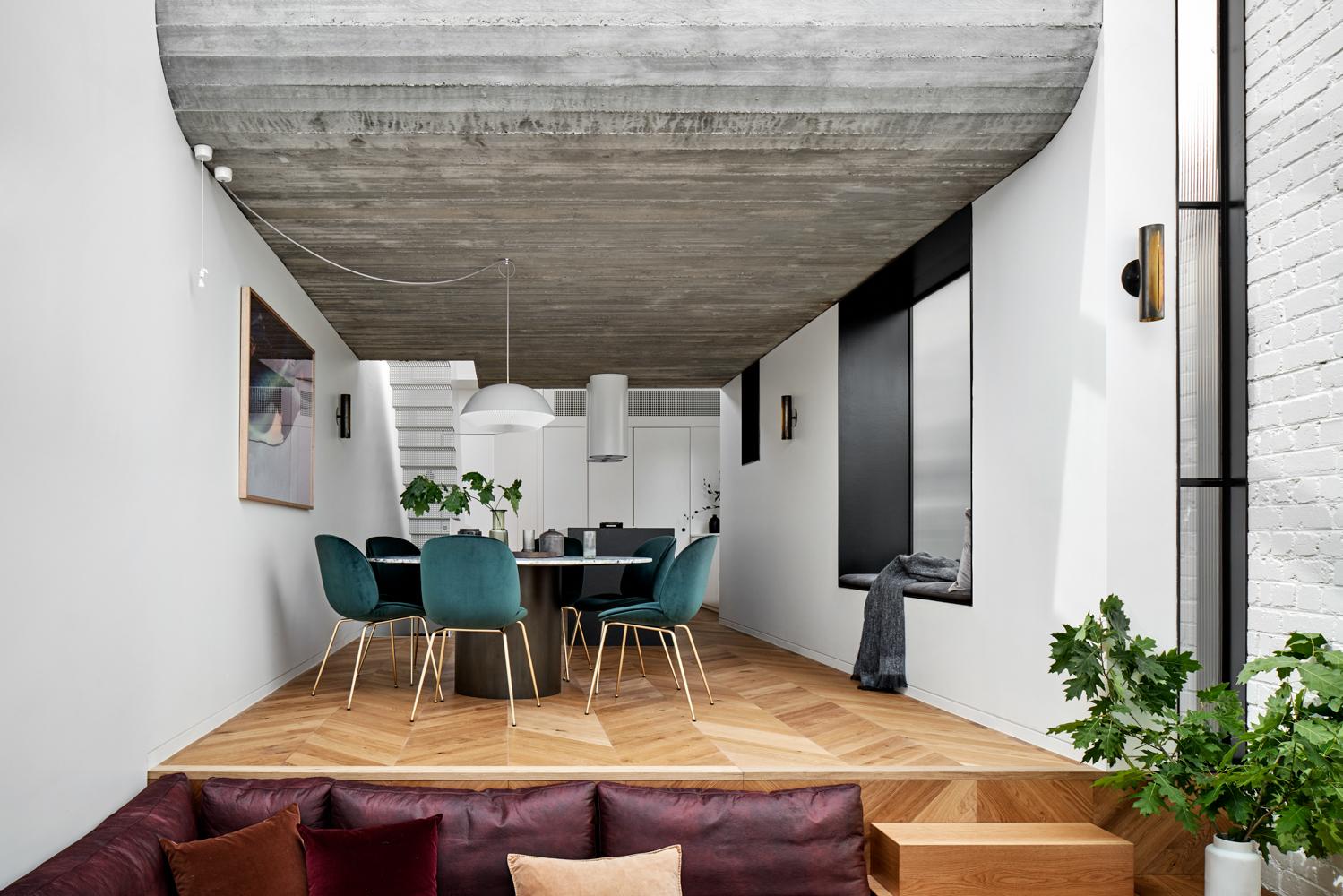 Sunken lounge idea