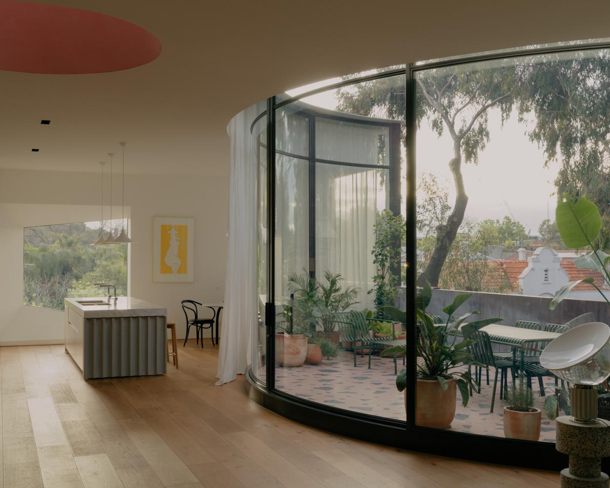 Apartment penthouse design