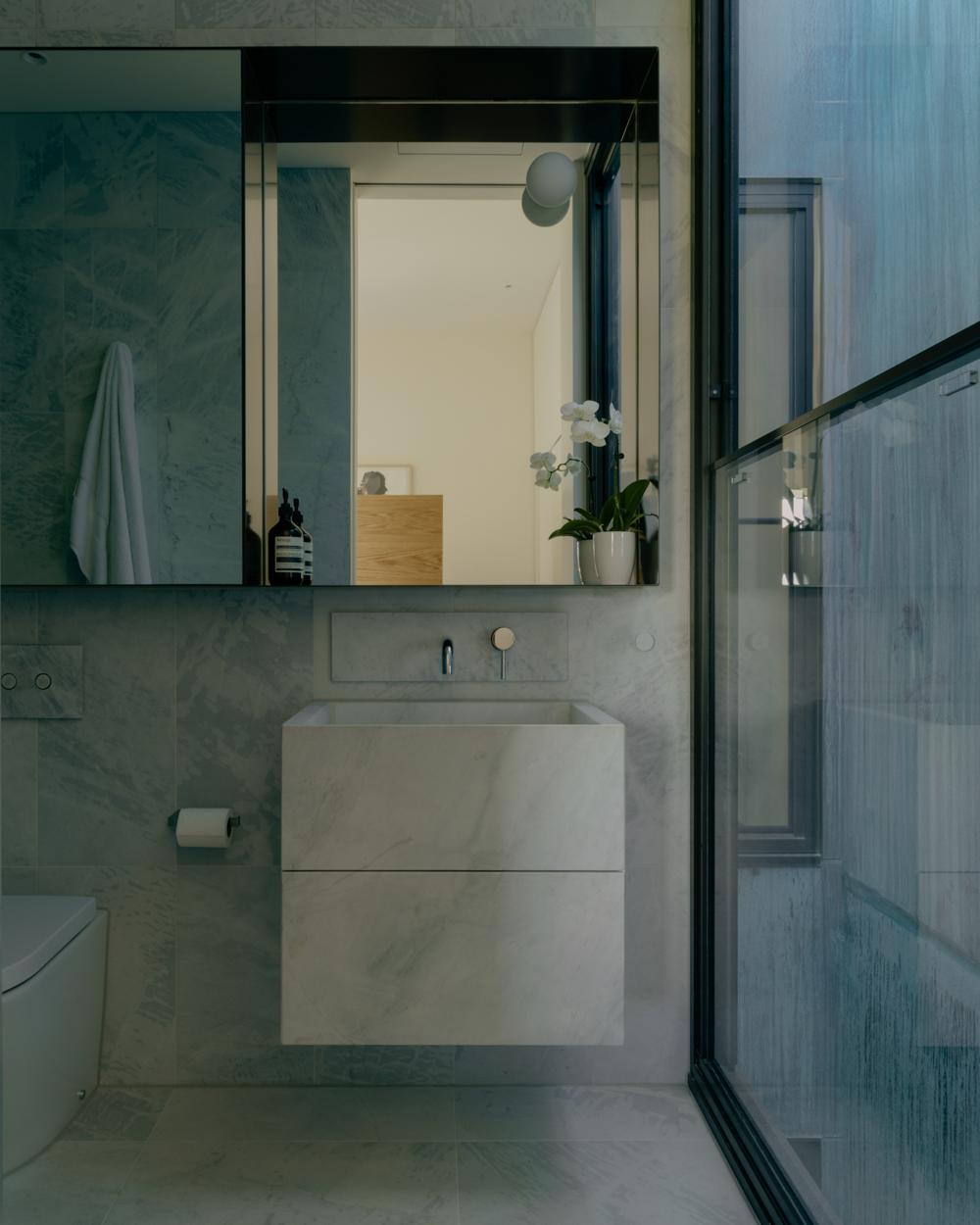 Apartment bathroom design