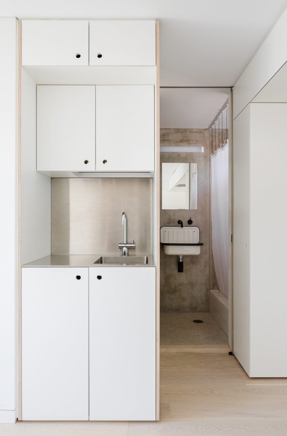 Japanese inspired apartment design