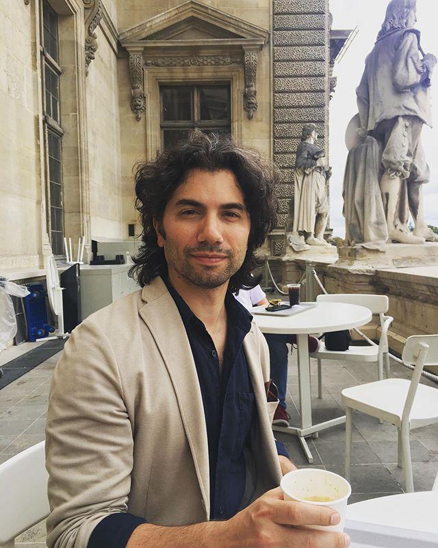 An Americano in Paris.