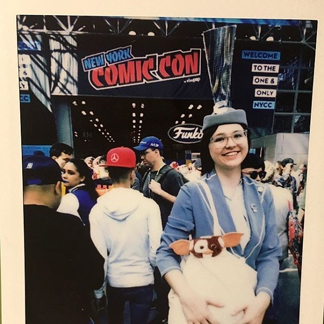 Thanks again New York Comic Con. You're gorgeous, and messy, and I love you.