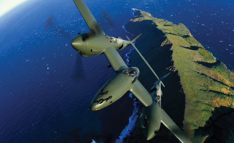"""P-38F LIGHTNING - """"GLACIER GIRL"""""""