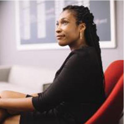 <b>CANDICE MORGAN</b><br>Head of Inclusion & Diversity   Pinterest