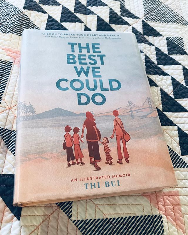 "In my spare time, I have been reading a lot of modern pieces of Asian American literature. 📚 The one that has hit home the most for me is ""The Best We Could Do"" by @teabuoy. Reading Thi's story resparked my deepest appreciation for the struggle of my refugee parents during the Vietnam War and their post immigration times in the U.S. How they are able to get where they are now is something that I can NEVER compare myself with. Reading this has gotten me to see my parents and grandparents in a different light, where I feel a much deeper understanding for them because of the hardships they had gone through. In fact, Thi's story has inspired me to record my own parents' journey to the U.S. as refugee immigrants. ✍️ . (Other works that I have been indulging myself in are ""Everything I Never Told You"" by @pronounced_ing and the @crazyrichasians trilogy by @kevinkwanbooks. I will be updating more on my latest reads in Instagram Stories so would love to exchange thoughts with anyone there! 🙏😍) . Reading books written by Asian American authors not only makes me feel proud of my community but reminds me of why I started @projectvoicepod in the first place. Likewise, other questions about the now 2-year-old podcast began to pop up the more I read and the less I podcast: what kinds of impact do I hope to leave for generations to come after I've transitioned out of podcasting? How can I continue recording stories of our generation and those before us while doing so from an authentic place? And how do we, as an Asian diasporic community, continue the art of storytelling in order to remind ourselves of the unbelievable journey that our grandparents, parents, and even we have had to overcome? ✊ . However, these are some really heavy questions to ponder over all in just one sitting...🧐 . SO, in the meantime, I'm taking reading recommendations since I have some more free time now! (Ironically speaking, being somewhat lost in my life has led me to rediscovering my love for books. ❤️) Friends, what are you currently reading? Share with me what has been giving you the feels! (I'm HUGE on making lists @goodreads by the way!) ✨ . 📕📗📘📙 #storytelling"