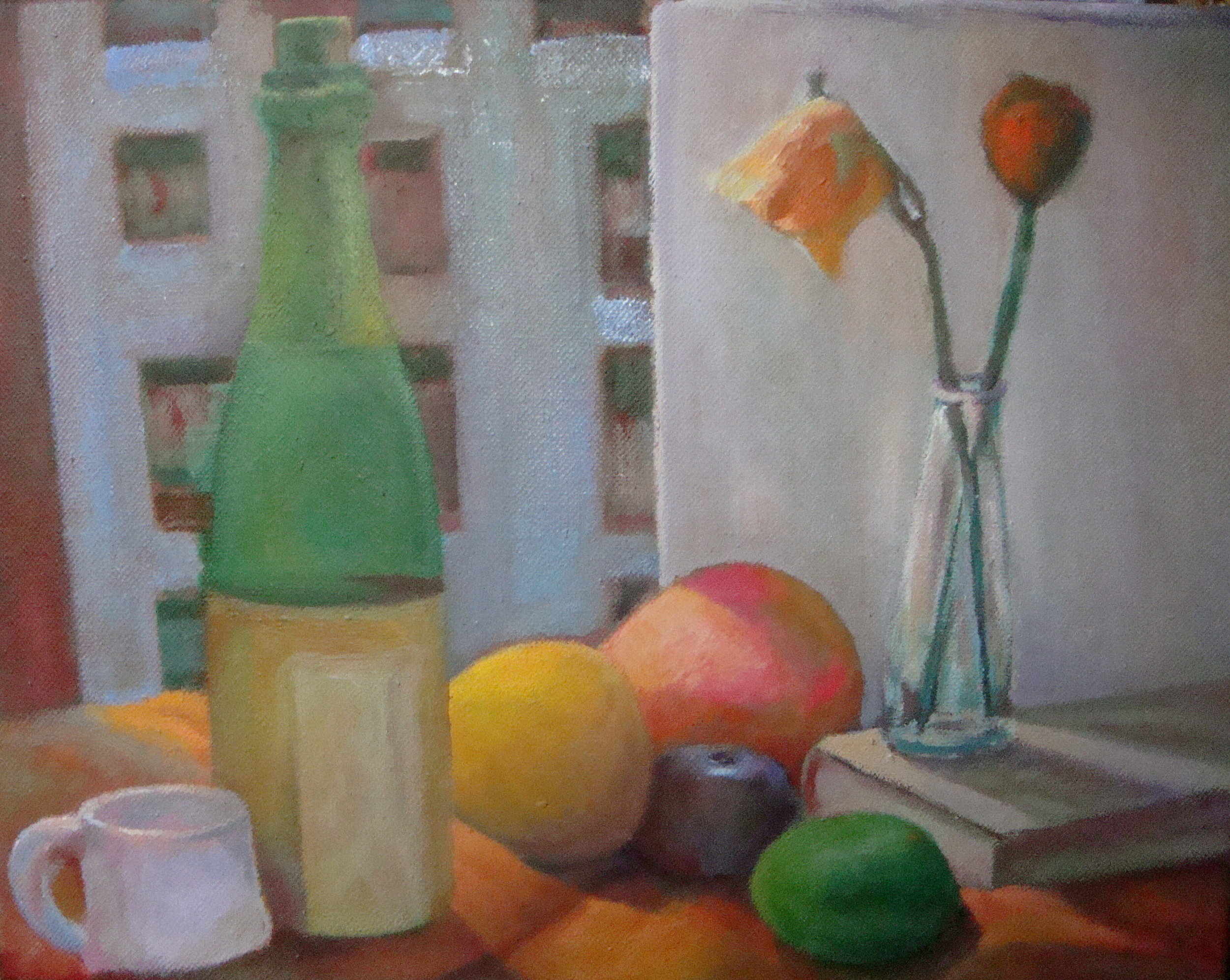 Still Life with Rose - SOLD