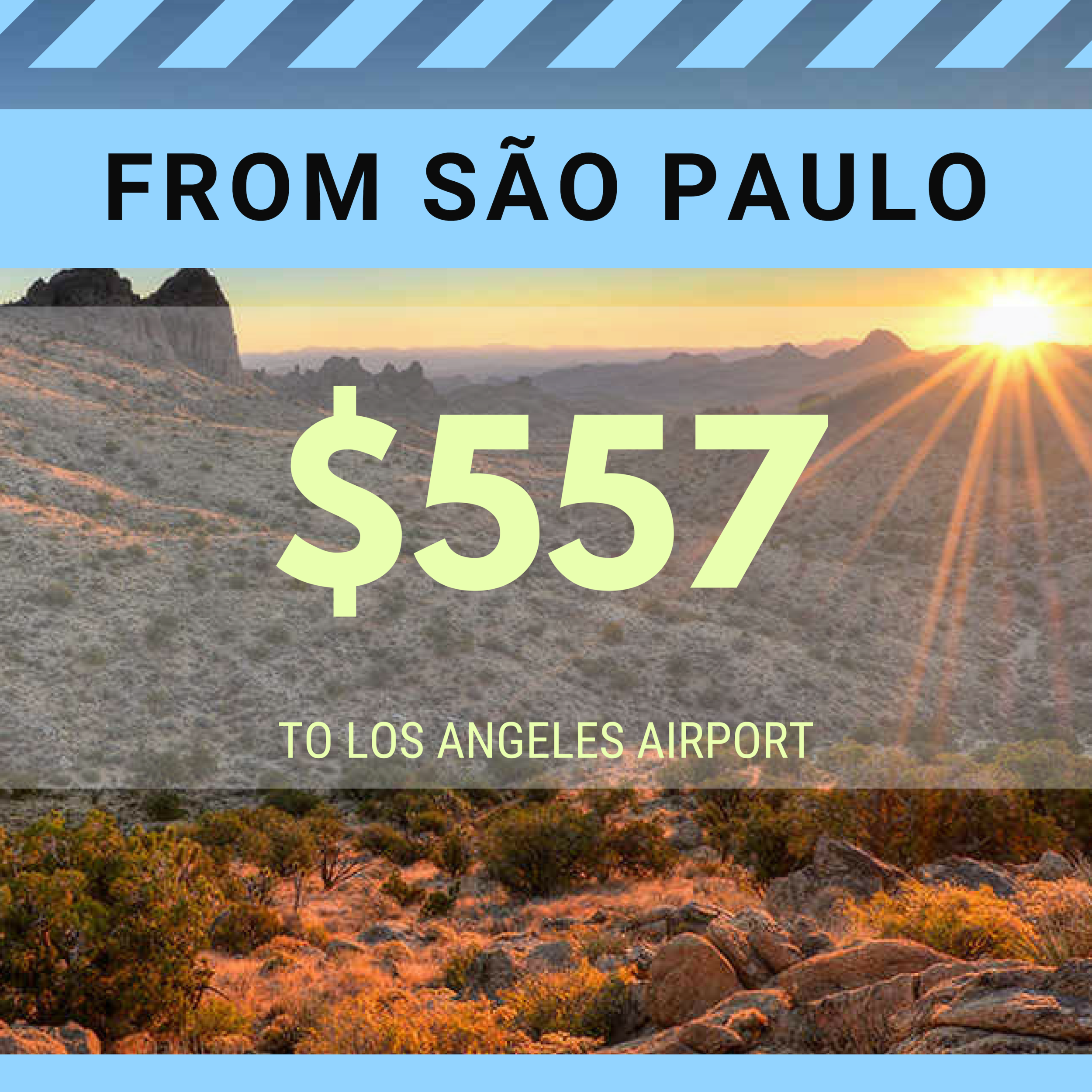FROM SAO PAULO TO LAX