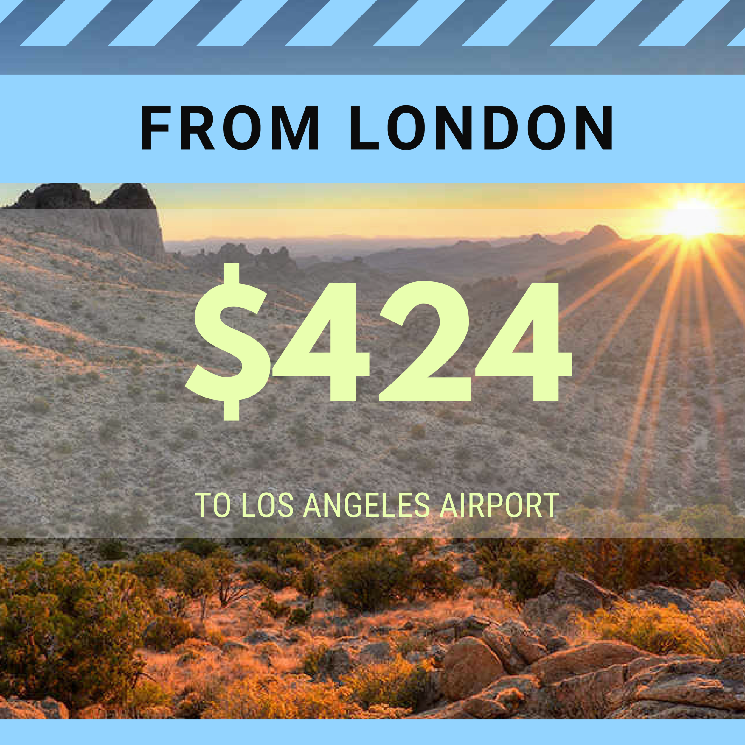 FROM LONDON TO LAX