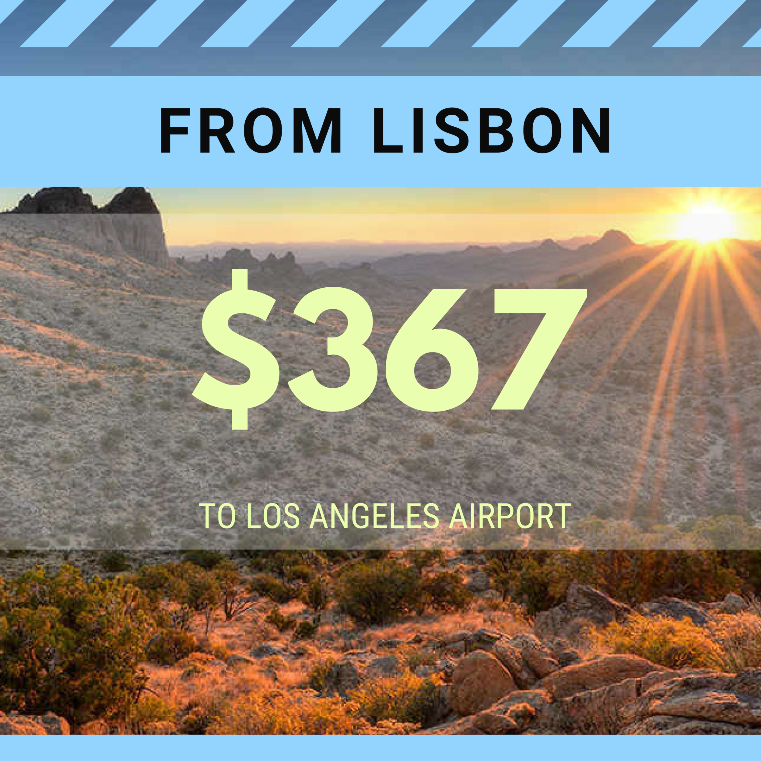 FROM LISBON TO LAX
