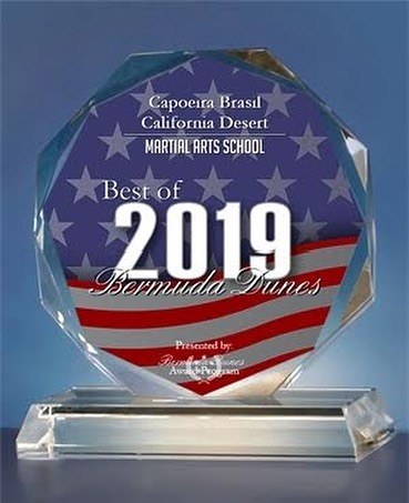 Thanks to the Bermuda Dunes Business Association for honoring us with 2019 Martial Arts School of the Year! #capoeira #capoeirabrasil #mestremindinho #valentecapoeira #bermudadunes #palmdesert #indio #coachellavalley #laquinta