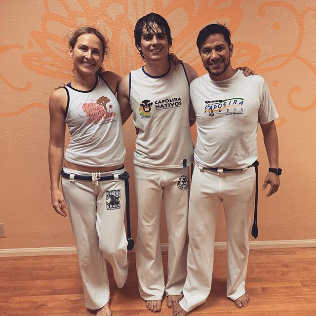 Super awesome to have Lobão visiting from Colombia this summer! #capoeira #capoeirabrasil #capoeiratravels