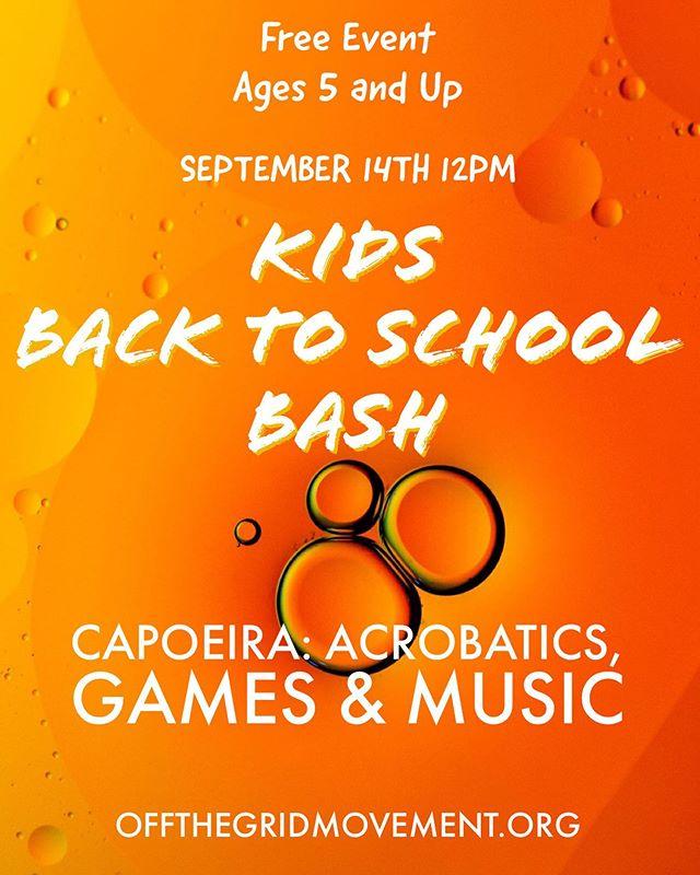 Free Event for Kids. Spots are limited! You must register online to ensure a spot. #capoeira #bermudadunes #laquinta #palmdesert #ranchomirage #dateharvest #inspirecharterschools #indio #coachellavalley