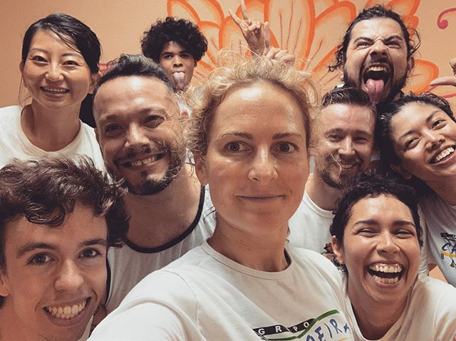 We have a lot of fun together! Come check out our growing community of friends! #capoeira