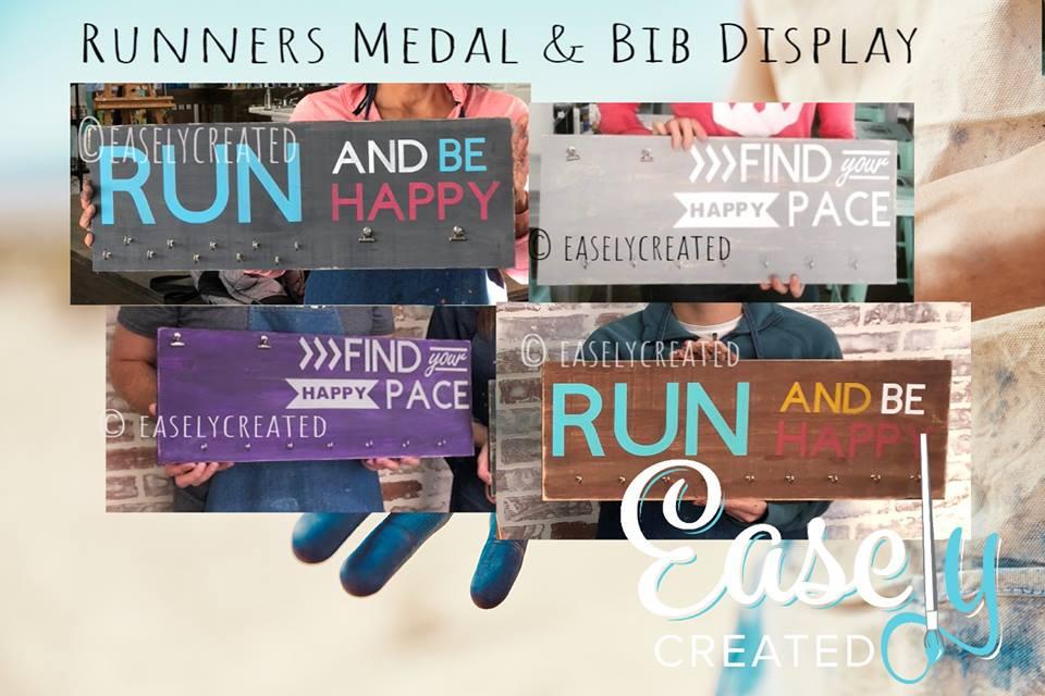 Runners Medal/Bib Holder $52