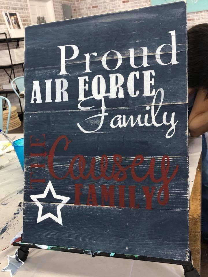 Air Force 14x16 $45