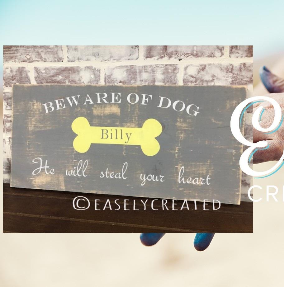 Beware of Dog 10x24 $48