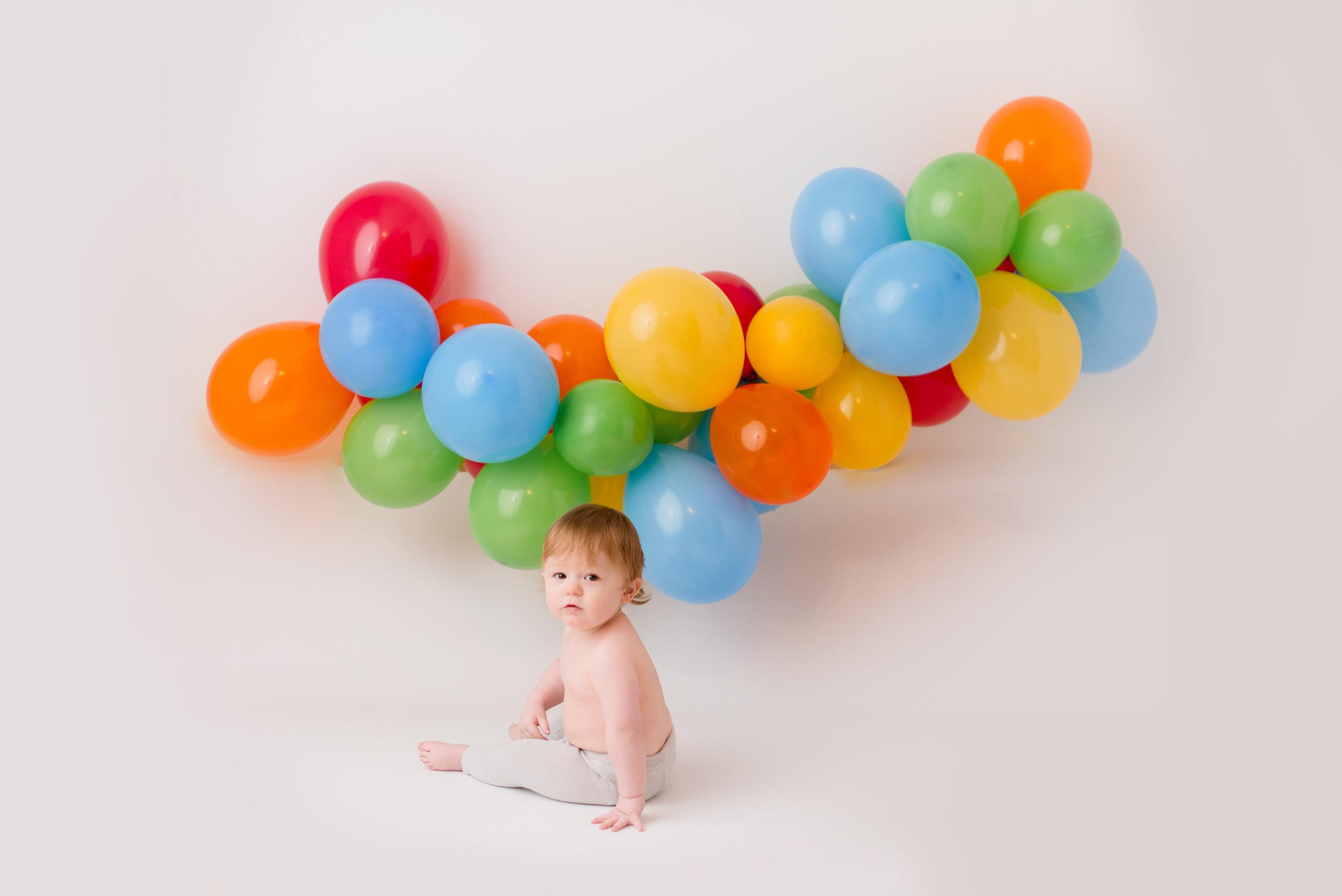 Elliot turns 1! - 1 yr smash session