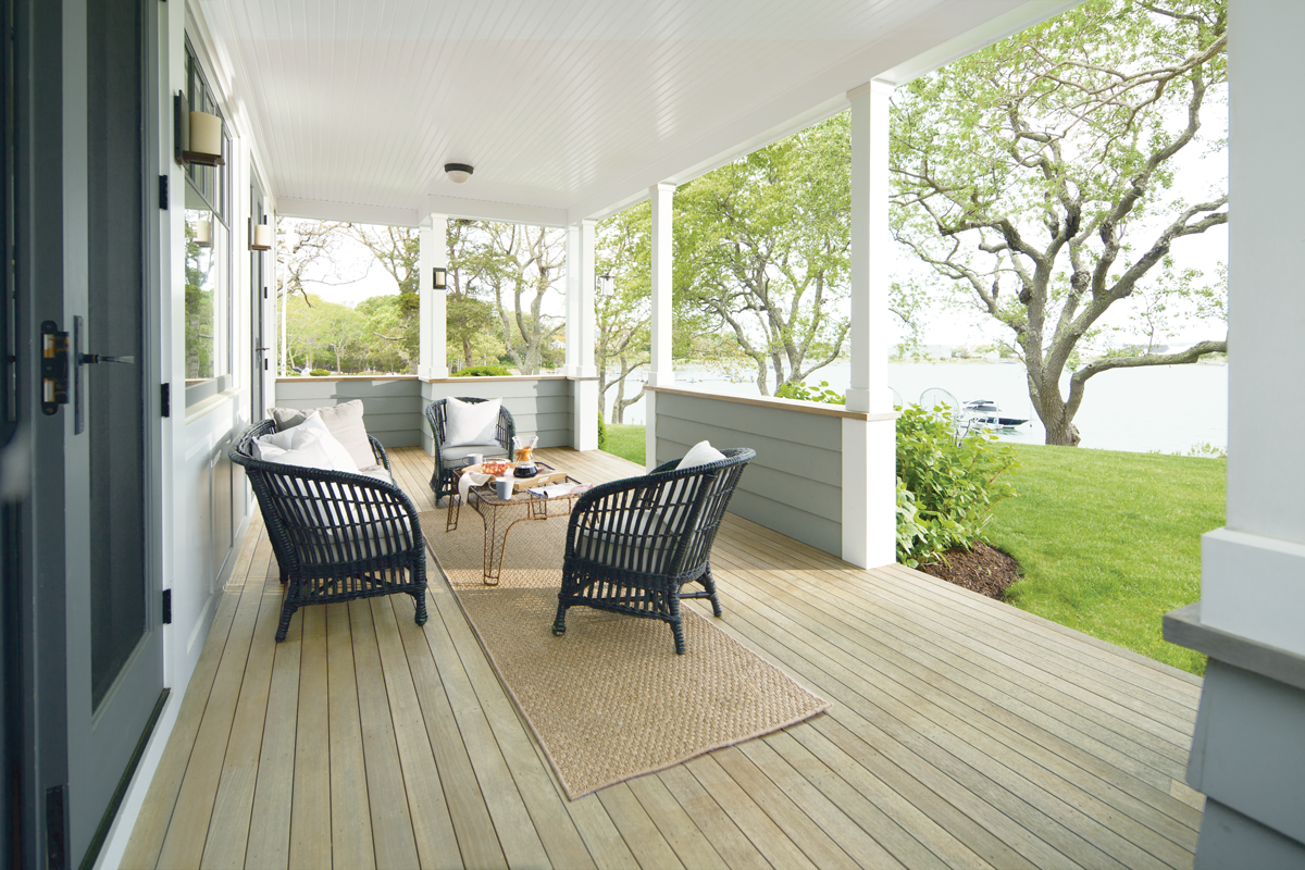 get inspired - exterior stain