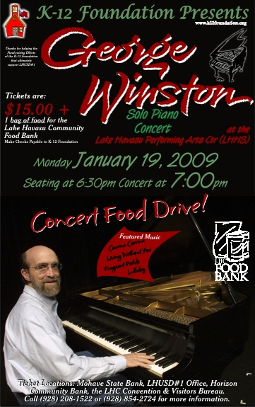 George Winston Piano Concert 2009