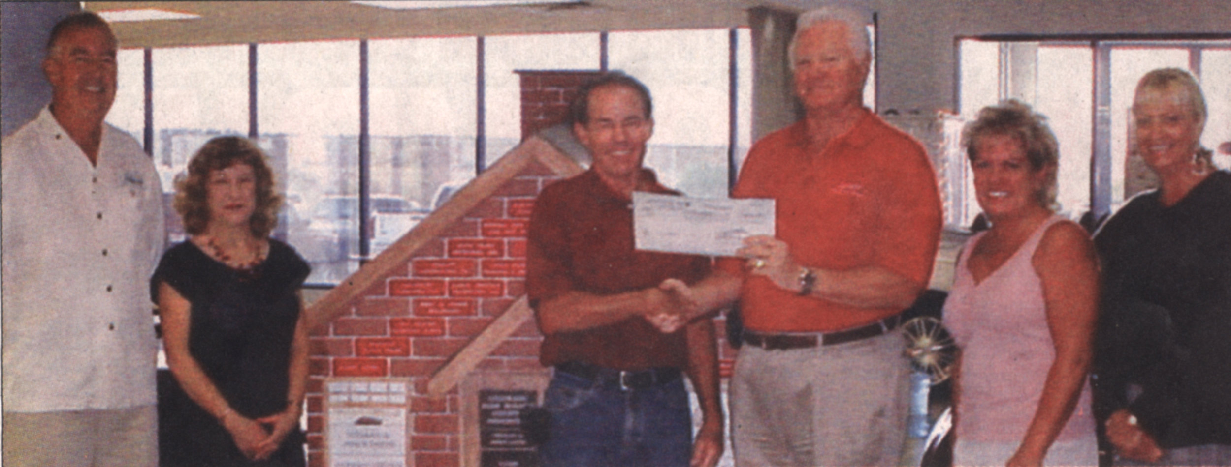 Anderson Auto Group Donation 2007