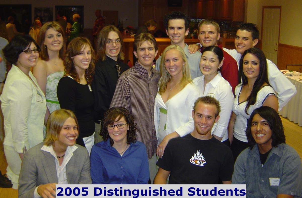 2005 Distinguished Students