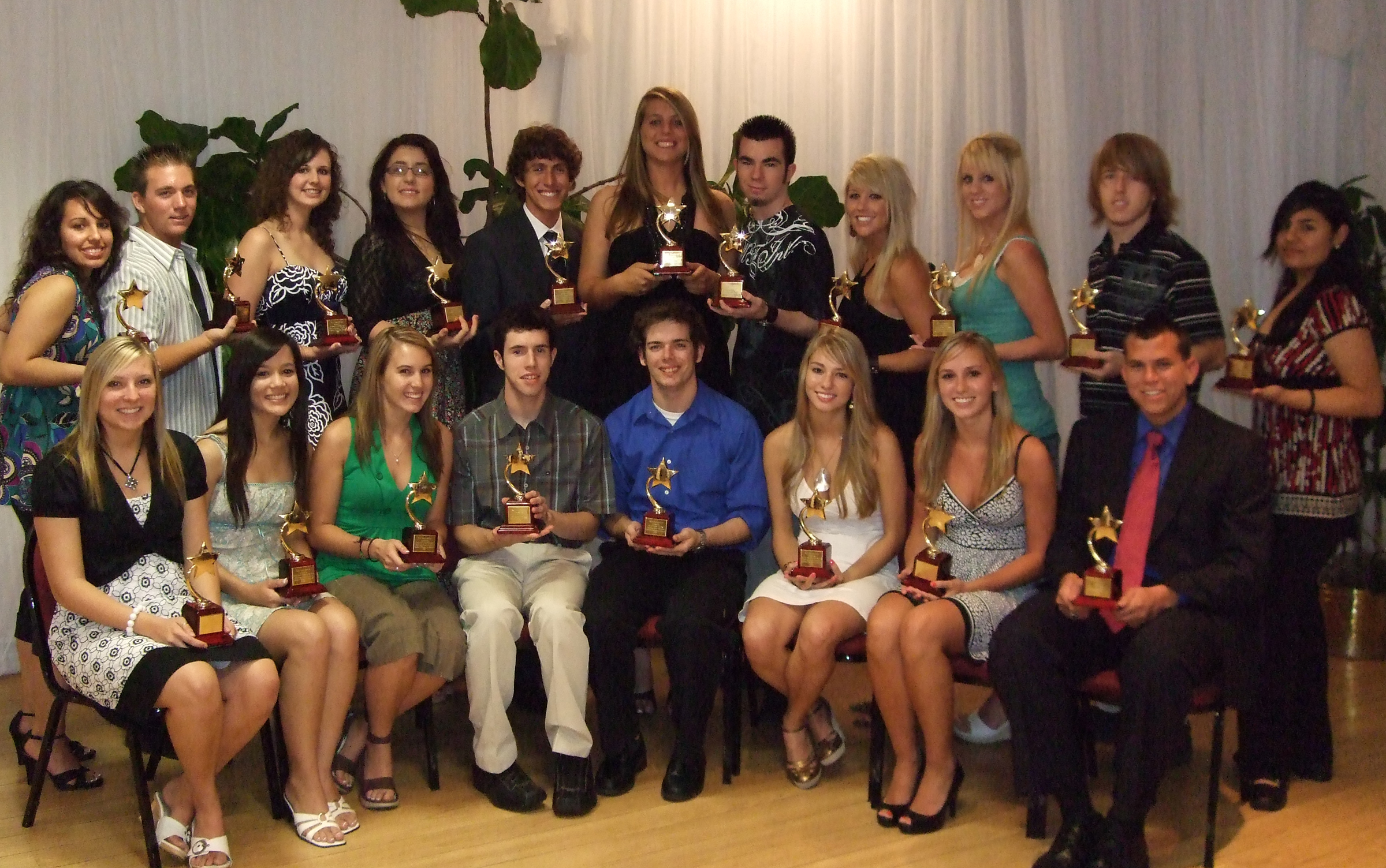 2008 Distinguished Students
