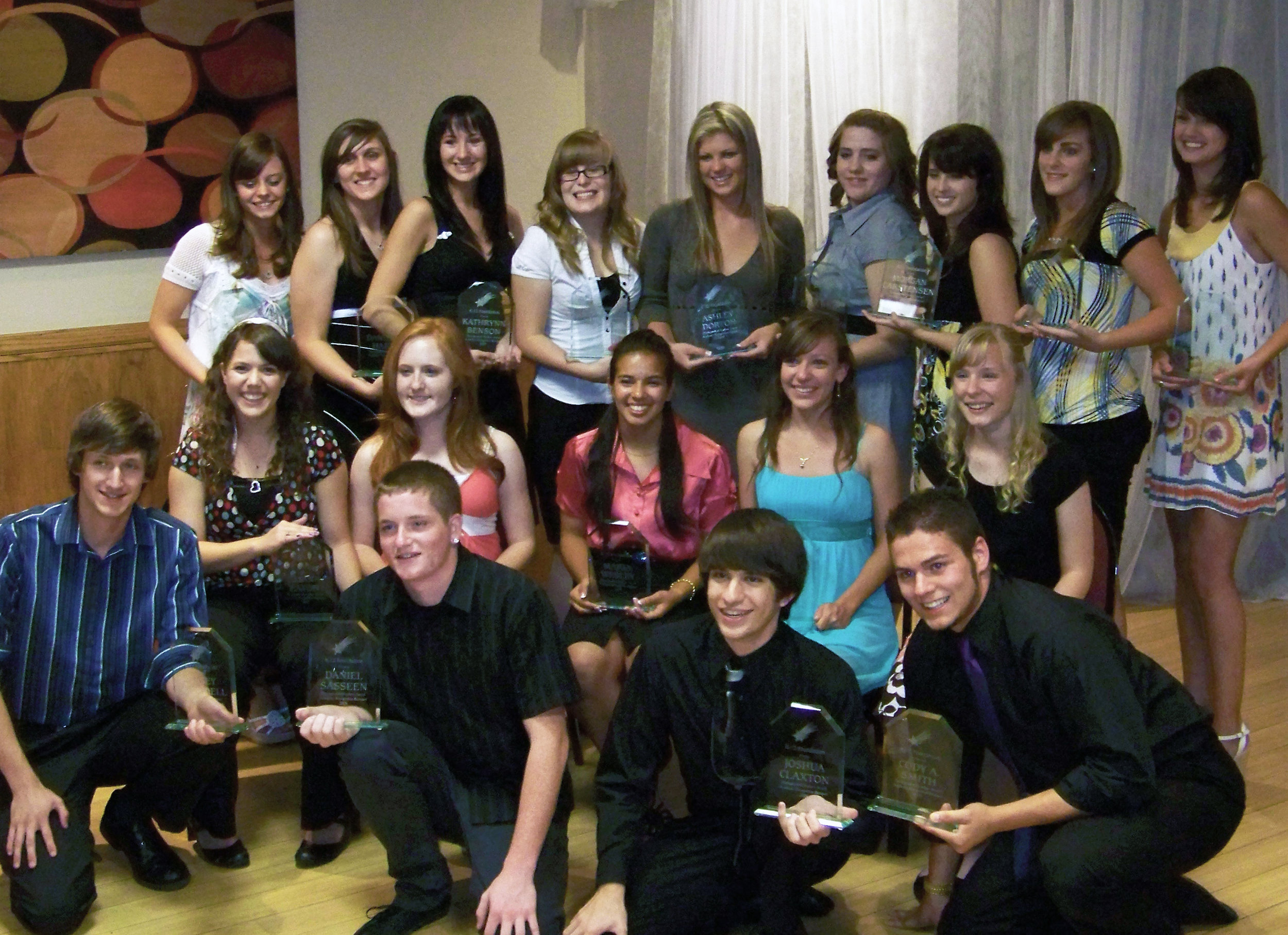 2009 Distinguished Students